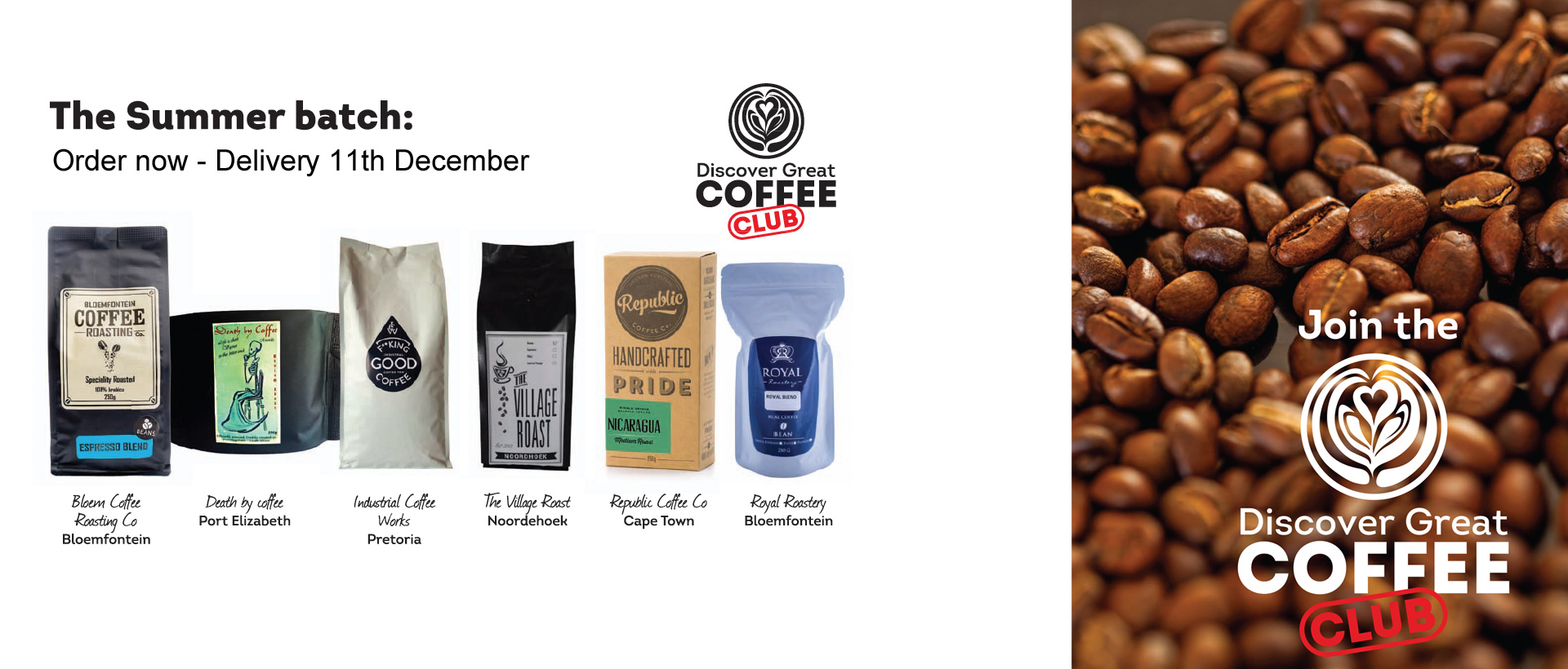 Discover Great Coffee Club