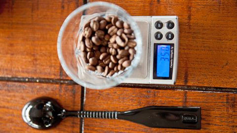 Put It On A Scale Coffee Magazine