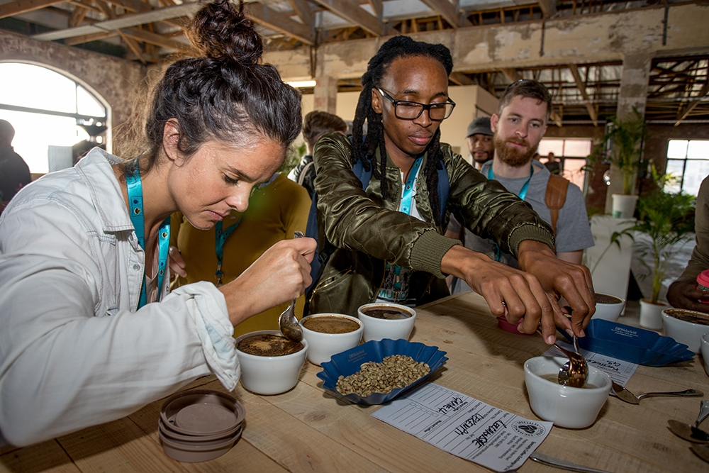 FNB Creative Coffee Week: Day One