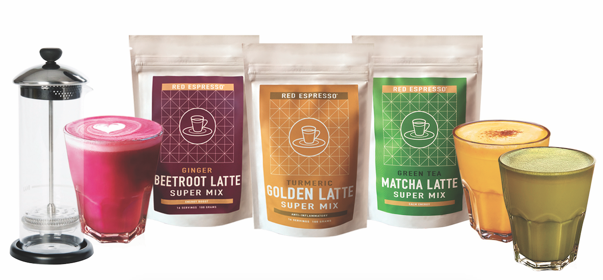 Win: Red Espresso Superfood Latte Powders