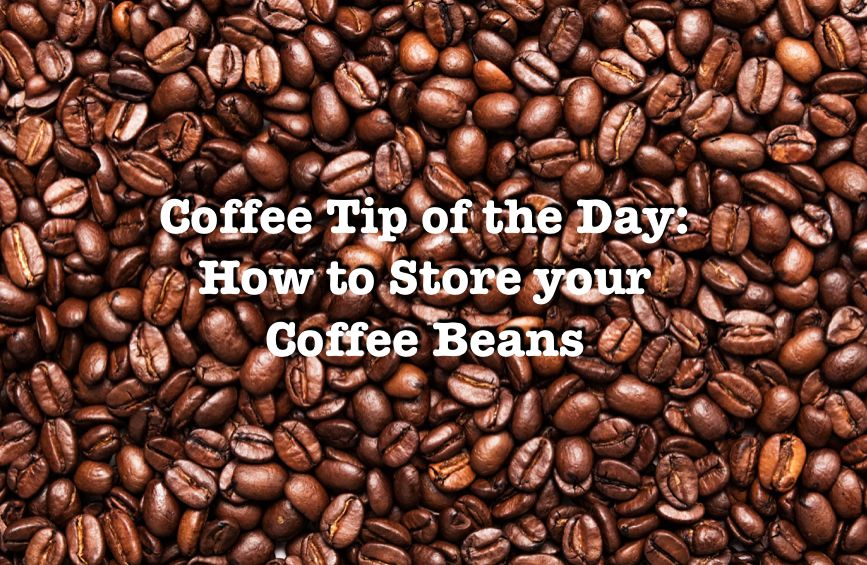 Coffee Tip of the Day: How to Store Your Coffee Coffee