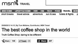 Truth.Coffeecult goes international!