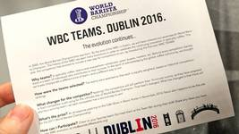 Competition News! WBC Teams. Dublin 2016