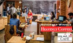 Winner Cafe of the Month: Heavenly Coffees